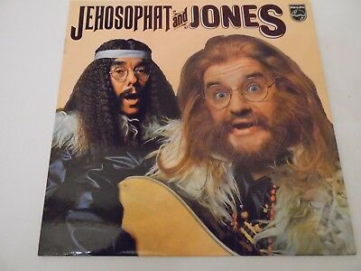 "JEHOSOPHAT and JONES . 12"" 33rpm LP Record . (The two Ronnies) . 1973 . Comedy ."