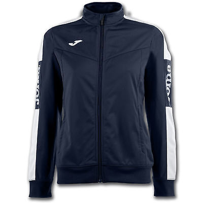 JOMA FELPA ZIP CHAMPION IV DONNA NAVY-BIANCO Uniforms
