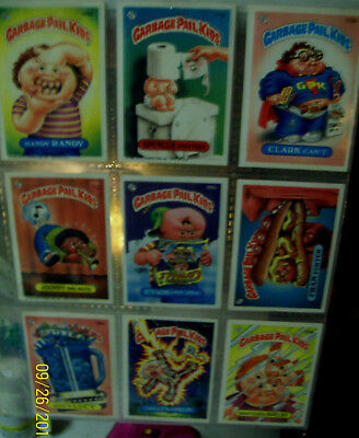 lot of 14 ....  older .... Garbage Pail Kids collector cards -- Series 5