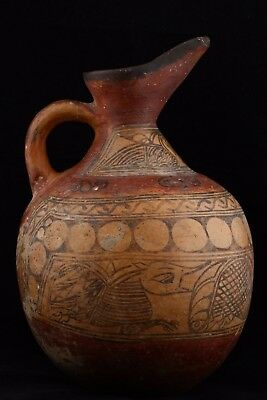 100% Authentic Rare Large Antique Ancient Pre Islamic Pottery Herat 3000 BC