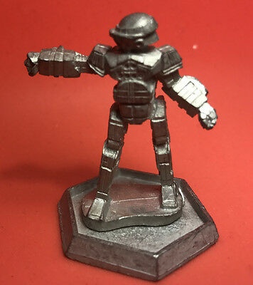 BATTLETECH Ral Partha Miniature - Metal Mech Robot COMMANDO 20-865 1987