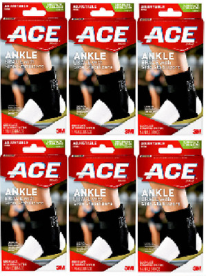 ACE Knitted Knee Brace with Side Stabilizers, Extra Large (6 Pack)