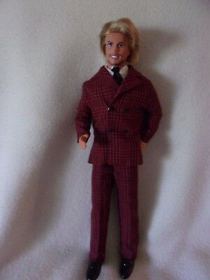 Shave~Style Ken Wearing VIP Scene Outfit #1473 Mod Era Shirt~Tie Variation MINT!