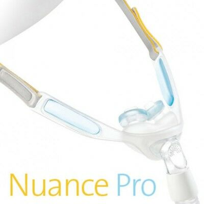Nuance & Nuance Pro Nasal Pillow CPAP Mask with Gel Nasal Pillows (S/M/L)