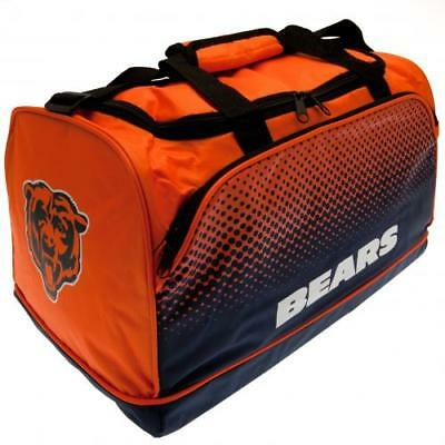 Chicago Bears NFL American Football Holdall Gym Luggage Kit Bag