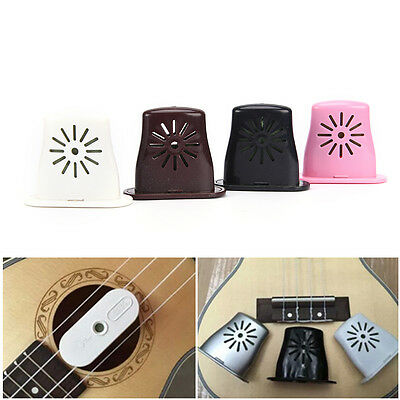 1pc Ukulele Guitar Bass Sound Holes mini Humidifier Musical Moisture ReservoirEV