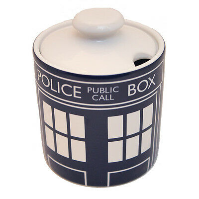 Doctor Who Tardis Sugar Bowl - 100% Official licensed