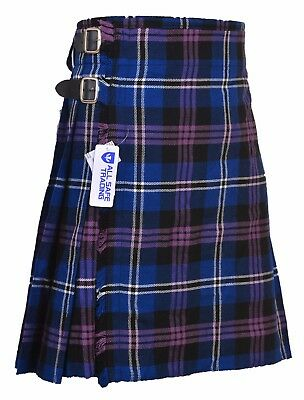 Heritage of Scotland  5 Yard 13oz Light Weight Casual Wear, Scottish Tartan Kilt