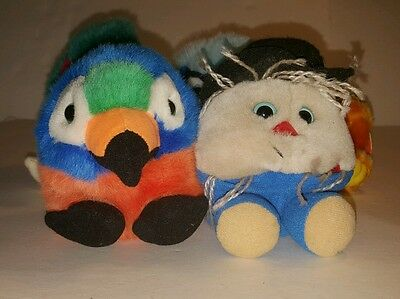 Lot of 5 PUFFKINS Stuffed Animals by Swibco HOLIDAY LIMITED EDITION