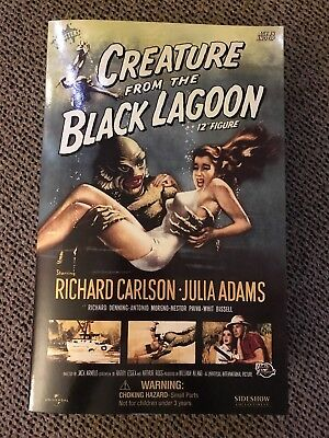 """Sideshow 12"""" Creature From the Black Lagoon Figure  2003 sealed mint"""