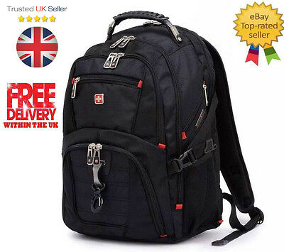 BRAND NEW Wenger Swissgear 17.1 inch Laptop Backpack Notebook Bag Rucksack