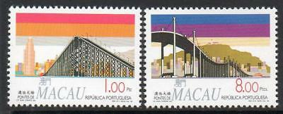 MACAO MNH 1994 SG859-60 Bridges