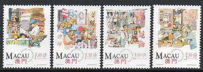 MACAO MNH 1994 SG848-51 Traditional Chinese Shops
