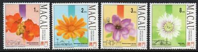 MACAO MNH 1993 SG815-18 Flowers and Gardens (2nd Series)