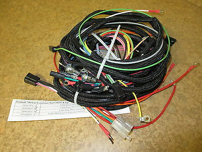 Farmall 460 Gas Tractor Wiring Harness Kit - 10 Harnesses Included