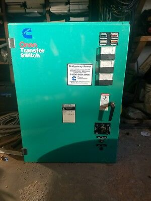 Cummins Onan Automatic Transfer Switch 150 Amp, 480V 1 and 3 phase