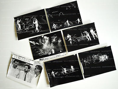 QUEEN 1986 Live in Budapest / RARE UNPUBLISHED UNRELEASED ORIGINAL PRESS PHOTOS