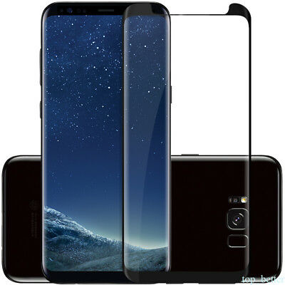 Full Cover Tempered Glass Screen Protector For Samsung GALAXY S8 Plus Note 8 TR1