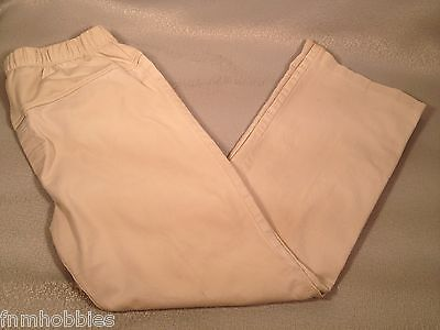 MATERNITY: OLD NAVY PANTS Sz: M Khaki Tan  Acceptable Pre-owned