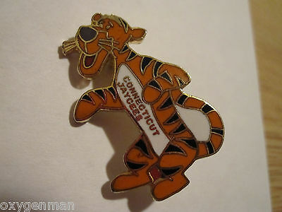 Vintage JAYCEES Pin TIGGER from Winnie the Pooh CONNECTICUT Free US Ship