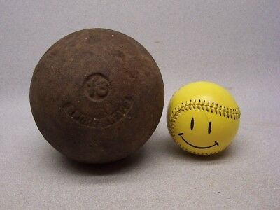Vintage Real Deal SPORTSWAYS 16 pound lb OUTDOOR SHOT PUT Steel Metal Cast Iron