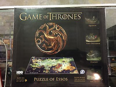 Game of Thrones PUZZLE OF ESSOS new jigsaw cityscape 4D new