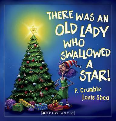 THERE WAS AN OLD LADY WHO SWALLOWED A STAR Children's Reading Picture Book NEW