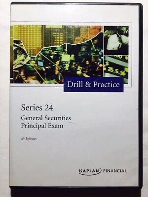 Kaplan Series 24 License Exam Aide - General Securities Principal - 4th Edition