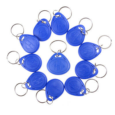 5PCS RFID 125KHz Writable Rewrite T5577 Keyfobs Proximity Access TagsEV