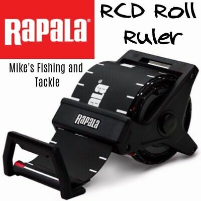 Rapala RCD Roll Fishing Ruler 150cm Spring Loaded & Retractable Measure