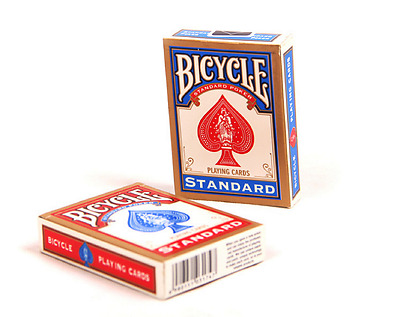 1PCS Bicycle Playing Cards Poker Rider Standard Shipping - One Deck