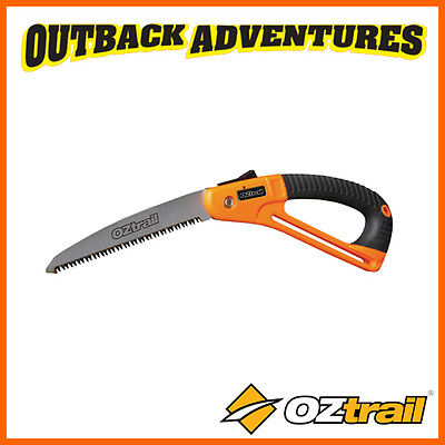OZtrail FOLDING CAMP SAW WITH 18CM STEEL BLADE - CAMPING TOOL
