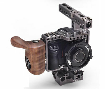 Tilta ES-T17-A Camera Cage Baseplate Wooden Handle For SONY A7 A7S A7S2 A7R A7R2