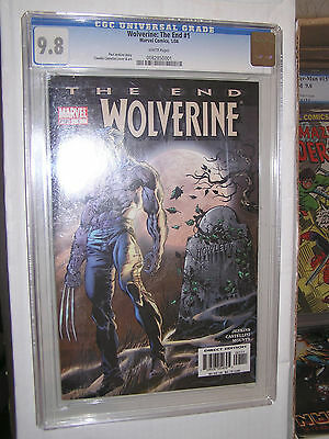 Wolverine The End #1 CGC 9.6 Ed Hannigan and Klaus Janson Cover Kingpin App