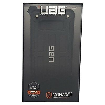 UAG Samsung Note 8 Monarch Feather Light Rugged [BLACK] Drop Tested Phone Case