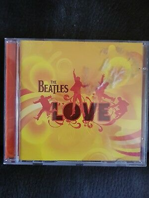 The Beatles cd.  Love. Good find.