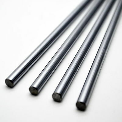 8mm Dia Chrome-plating Cylinder Liner Rail Linear Shaft Optical Rod Axis Shaft