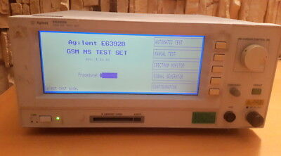 Agilent E6392B GSM test set