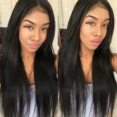 100% 7A Brazilian Virgin Full Lace Human Hair Wigs Glueless Full Lace Front Wig