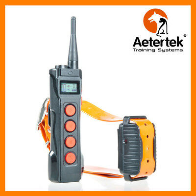 Aetertek AT-919C 1 Dog Remote Training Collar 1000M Range Auto Anti Bark Feature