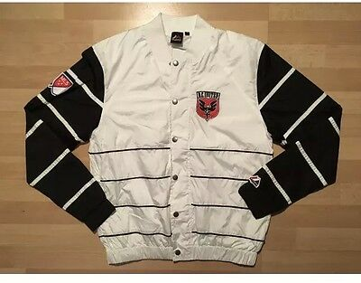Majestic-Athletic-Football-Soccer-D-C-United-Black-and-White-Jacket Medium (3)