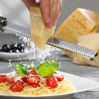 2016 Practical Stainless Steel Fine Kitchen Cheese Vegetable Zester Grater US