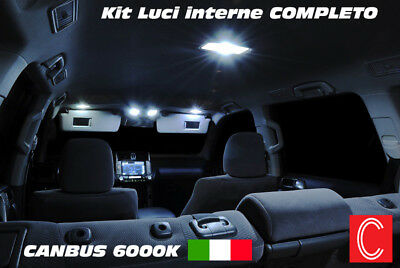 Kit Led Interni Bmw Serie 3 E90 Conversione Completa + Anti Pozzanghera