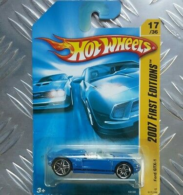 Hot Wheels 2007 1St Edition No 017 Ford Gtx1 New In Packaging