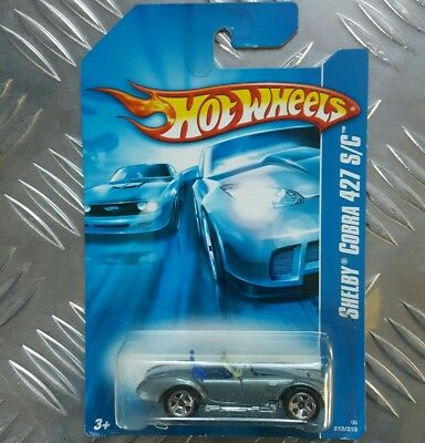 #2007-212 Shelby Cobra 427 S/c Collectible Collector Car Mattel Hot Wheels.