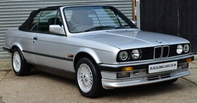 Excellent BMW E30 325 Convertible - ONLY 84,000 Miles -FSH -YEARS MOT -WARRANTY