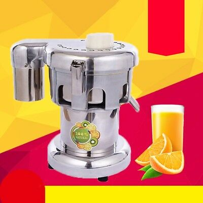 370W 80-100 / hr Commercial Fruit Power Juicer Juice Extractor 110V/ 220V