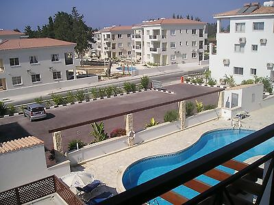 2 bedroom penhouse apartment in Paphos, Cyprus for August, September and October