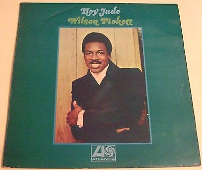 Wilson Pickett 1969 Uk Lp - Hey Jude