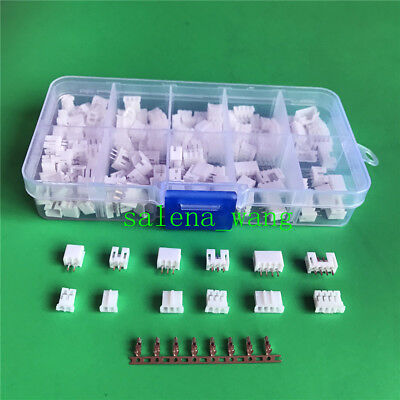 90sets JST PH 2.0mm Connector  2pin 3pin 4 pin  plug Male&Female, Crimps DIP